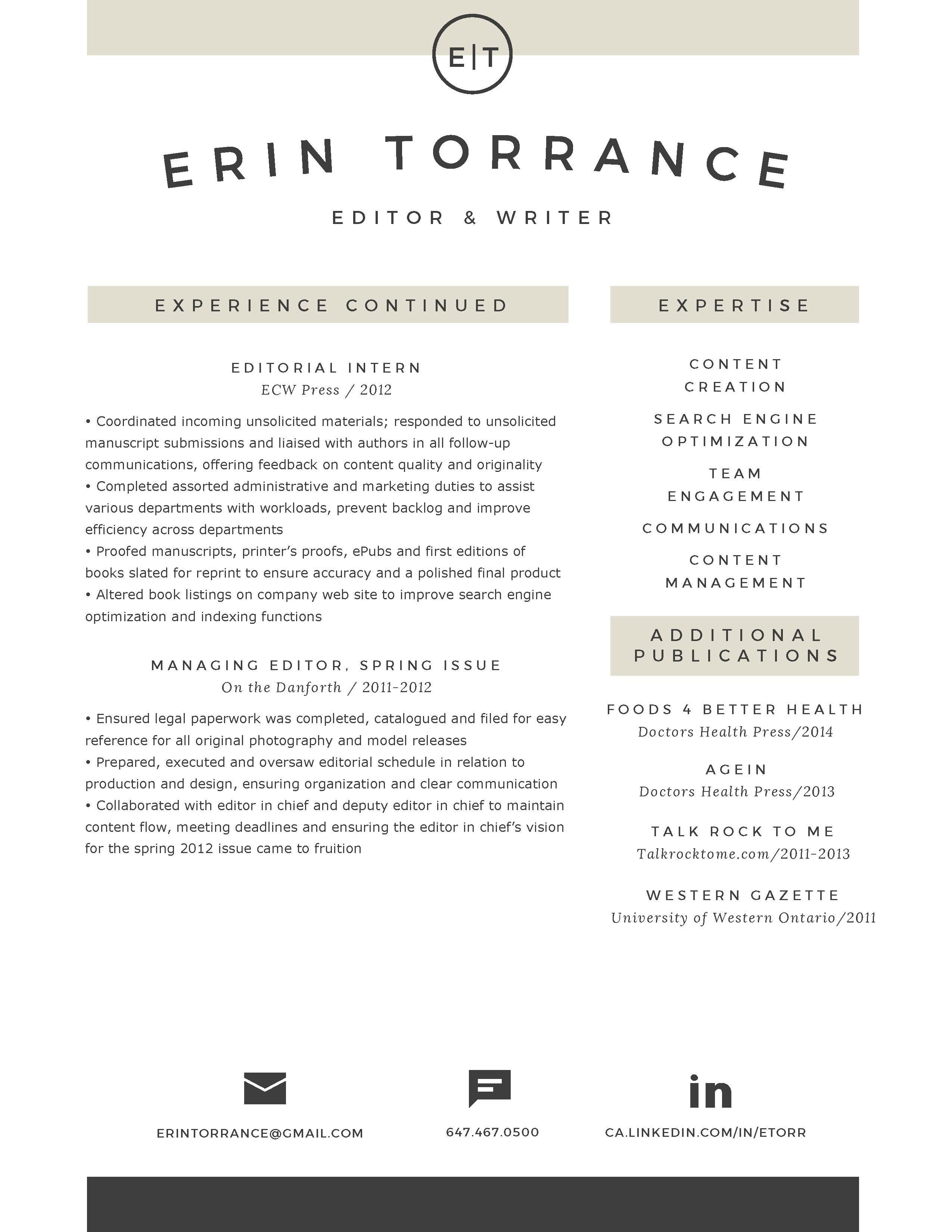 erin torrance resume associate editor  1  page 2